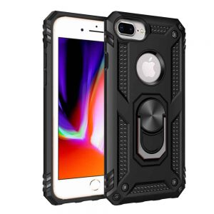 Apple iPhone 11 Pro Max Black Magnetic Ring Case
