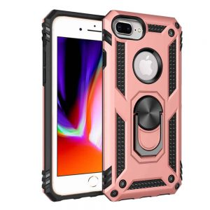 Apple iPhone XR Rose Gold Magnetic Ring Case