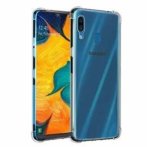 Samsung Galaxy A20 Clear Heavy Duty Case