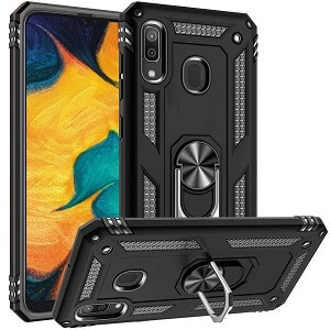 Samsung Galaxy A30 Magnetic Ring Case