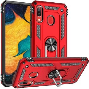 Samsung Galaxy A20 Magnetic Ring Case