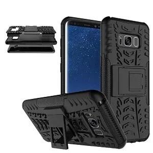 Samsung Galaxy S8 Plus Black Heavy Duty Case
