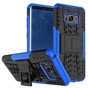 Samsung Galaxy S8 Blue Heavy Duty Case