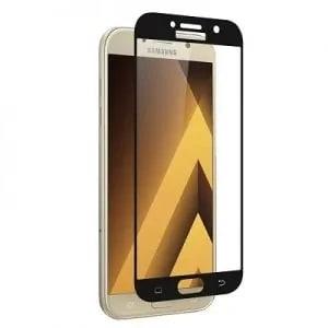Samsung Galaxy A5 Black Tempered Glass