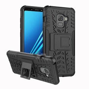 Samsung Galaxy A8 Black Heavy Duty Case
