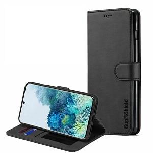 Samsung Galaxy S20 Plus Black Wallet Leather Case