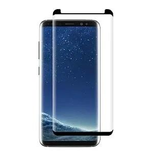 Samsung Galaxy S8 Black Tempered Glass