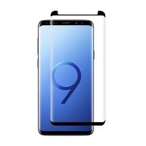 Samsung Galaxy S9 Black Tempered Glass