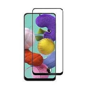 Samsung Galaxy A51 Black Tempered Glass