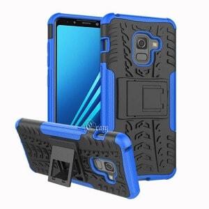 Samsung Galaxy A8 Blue Heavy Duty Case