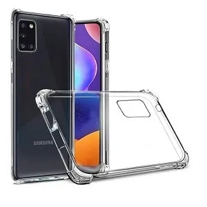 Samsung Galaxy A31 Clear Heavy Duty Case