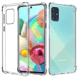 Samsung Galaxy A71 Clear Heavy Duty Case