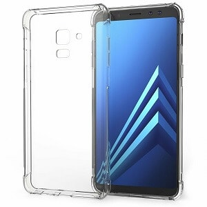 Samsung Galaxy A8 Clear Heavy Duty Case