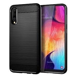 Galaxy A20 Carbon Fiber Case