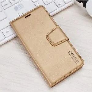 Samsung Galaxy A8 Gold Wallet Case
