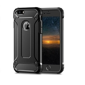 Apple iPhone 8 Black Armour Case