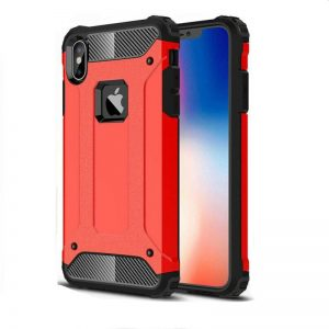Apple iPhone X Red Armour Case