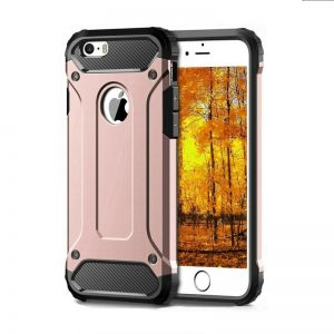 Apple iPhone XS Max Rose Gold Armour Case