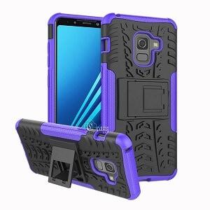 Samsung Galaxy A8 Purple Heavy Duty Case
