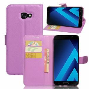 Samsung Galaxy A8 2018 Purple Wallet Case