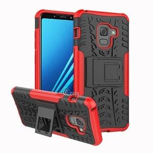 Samsung Galaxy A8 Red Heavy Duty Case
