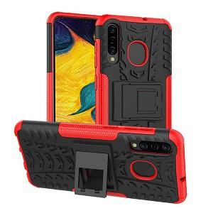 Samsung Galaxy A30 Red Heavy Duty Case