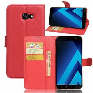 Samsung Galaxy A5 Red Wallet Case