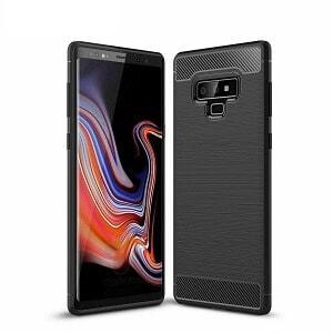 Samsung Galaxy Note 10 Plus Black Carbon Fiber Case