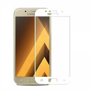 Samsung Galaxy A5 White Tempered Glass