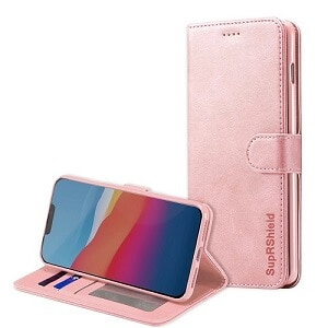 Apple iPhone 12 Rose Gold Wallet Case