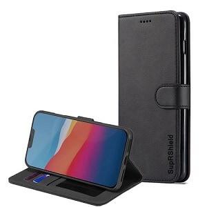 Apple iPhone 12 Black Wallet Case