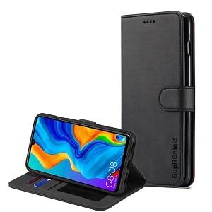 Huawei P30 Black Wallet Case