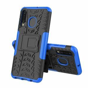 Samsung Galaxy A10e Blue Heavy Duty Case
