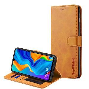 Huawei P30 Brown Wallet Case