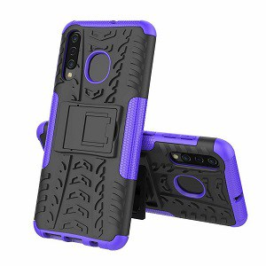 Samsung Galaxy A10e Purple Heavy Duty Case
