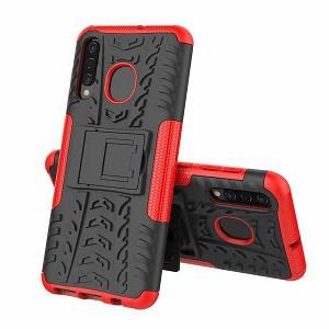 Samsung Galaxy A10e Red Heavy Duty Case