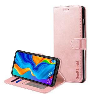 Huawei P30 Rose Gold Wallet Case