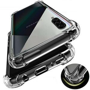 Samsung Galaxy A20s Clear Heavy Duty Case